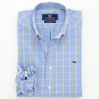 Pembroke Plaid Whale Shirt