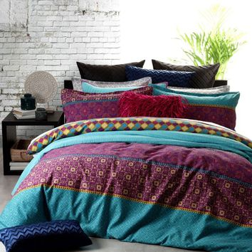 Gypsy Jewel Quilt Cover Set by Platinum Collection