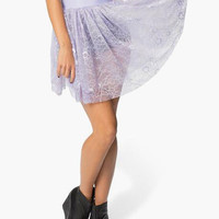 Sheer Lace Skirt