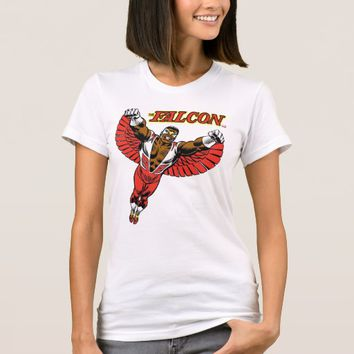 The Falcon Flying Character Art T-Shirt