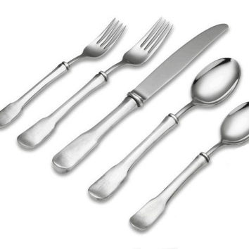 Match Pewter Olivia Flatware