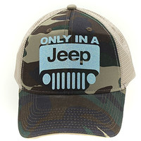 Camo Only In A JEEP Hat