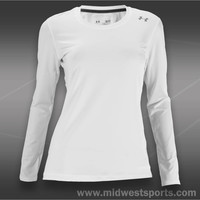 Under Armour Womens Tennis Shirt, Under Armour Sonic Top 1233503-100