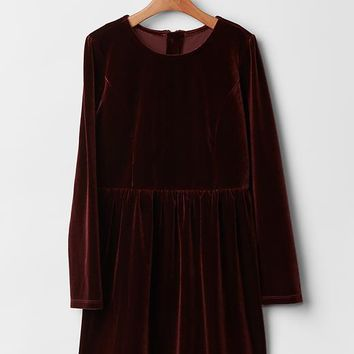 Gap Girls Velvet Dress