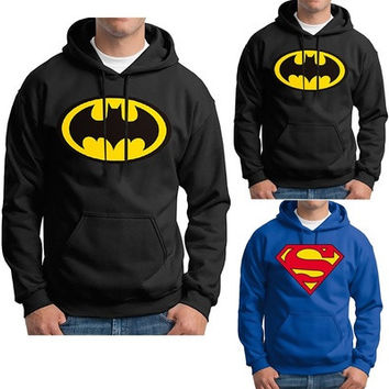 Superman Batman Hoodie Adult, Youth and Toddler Hooded Sweatshirts [8834069004]