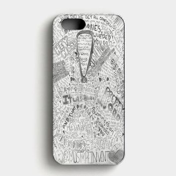 Panic At The Disco Watercolor iPhone SE Case