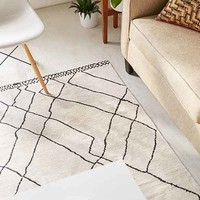 Tabor Organic Lines Printed Chenille Rug