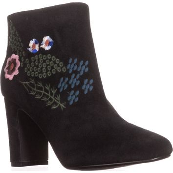 Nanette Lepore Beverly Ankle Boots, Black, 9 US