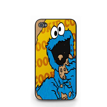 Cookie Monster Muppet Sesame Street iPhone 4 4S / iPhone 5 Case Cover