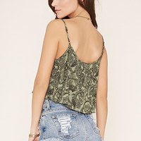 Paisley Crop Top | Forever 21 - 2000171406