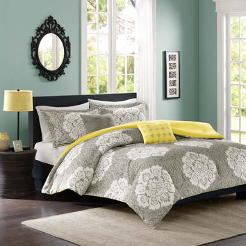 Intelligent Design Ciara 4-piece Comforter Set | Overstock.com Shopping - The Best Deals on Teen Comforter Sets