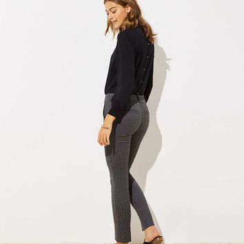 Petite Skinny Pindot Pants in Marisa Fit | LOFT