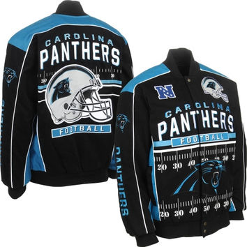 Carolina Panthers Blitz Jacket – Black