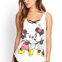 Minnie & Mickey Faded Tank | FOREVER21 - 2000059725