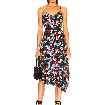 Equipment Jada Dress in True Black Multi | FWRD