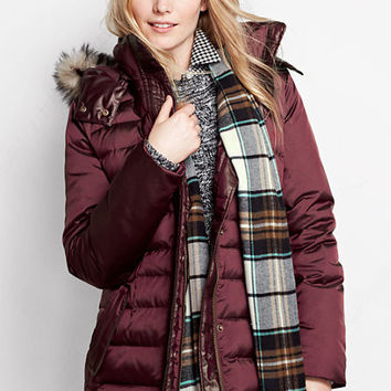 Women's Shimmer Down Parka from Lands' End