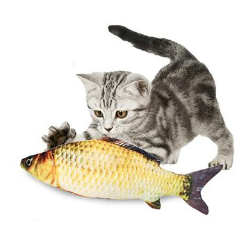 Shop fish cat toy on wanelo for Fish cat toy