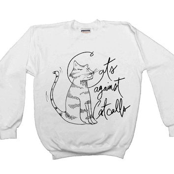 Cats Against Catcalls #2 -- Unisex Sweatshirt