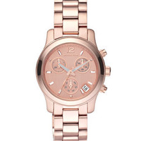 Michael Kors Michael Kors Round Watch, Rose Gold - Michael Kors