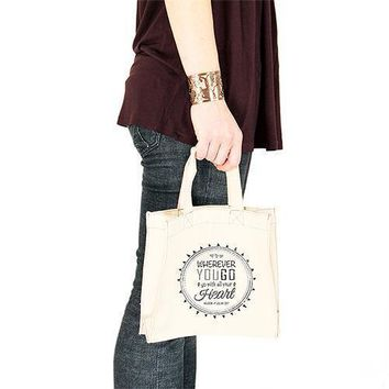 Free Spirit Personalised Tote Bag  Tote Bag with Gussets (Pack of 1)