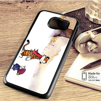 Calvin And Hobbes Comic Samsung Galaxy S4 S5 S6 Edge Plus S7 Edge Case Note 3 4 5 Edge Case