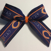NFL Chicago Bears Hair Bow