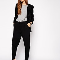 ASOS Pants in Straight Leg with High Waist