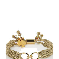 Kate Spade On Purpose Charm Bracelet
