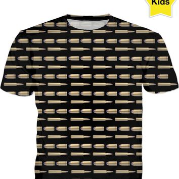 Bullets Kids Tee Black