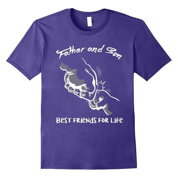 Father And Son Best Friends For Life First Bump T-Shirt