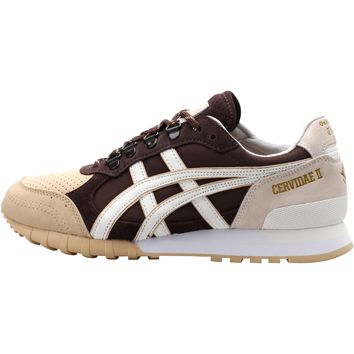 asics onitsuka tiger x woei colorado 85 cervidae ii dark brown white  number 1