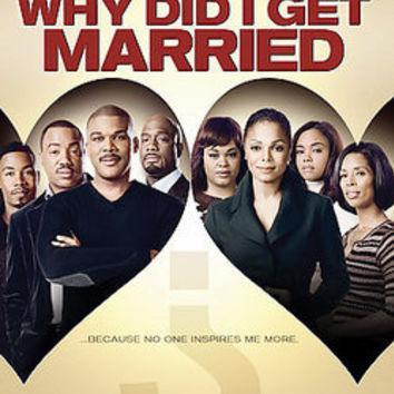 Tyler Perry's Why Did I Get Married?: Tyler Perry: 031398222286: