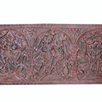 Vintage Headboard Hand Carved Kamasutra Moment Of Ecstasy Shabby Chic Bohemian Eclectic Decor