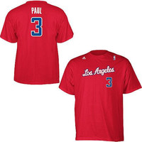 Chris Paul Los Angeles Clippers NBA Adidas player t-shirt NWT LA CP3 Clipps