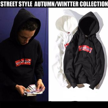 Supreme Mirrored Comme des Hoodie