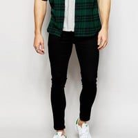 ASOS Extreme Super Skinny Jeans In In Cropped Length at asos.com