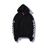HCXX Supreme 2018 Thin Hooded Sweater Black