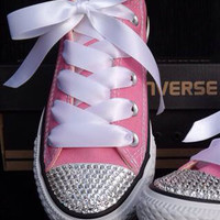 Pick your Color Tiffany Blue or Pink Customized Converse by Opus19