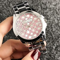 COACH 2018 new men and women models wild and fashionable quartz watch F-H-JH 6