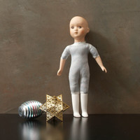 Porcelain Doll, No Hair, Repurpose, Restore