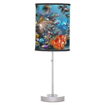Aquarium Sea Life Fish Desk Lamp