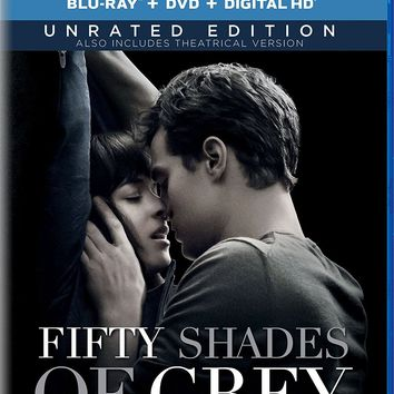 Fifty Shades Of Grey - Unrated Edition (Bluray+dvd+digital)