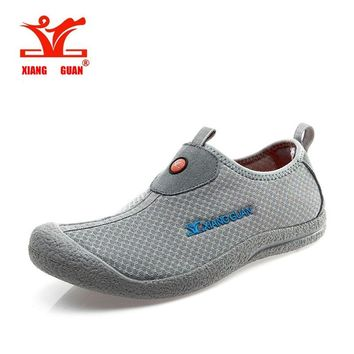 XIANGGUAN Summer Breathable Outdoor Sport Sneaker Spring and Outdoor Sneakers respirable Light Mesh cheap Trainer Sport Shoes