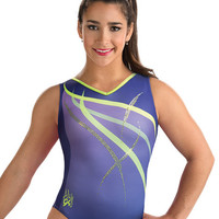 Sequinz Swirl Aly Raisman Leotard from GK Elite