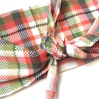 Christmas Knotted Headwrap