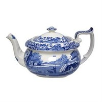 Spode Blue Italian Tea Pot