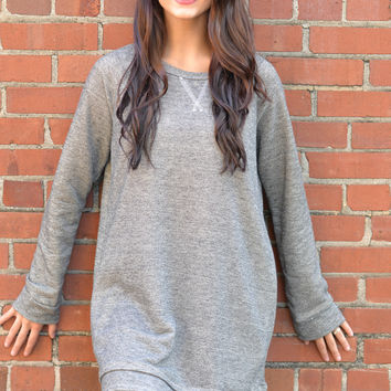 Laid Back Sweatshirt Tunic