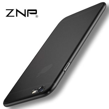 Matte Transparent Ultra-thin 0.3mm Back Full Case For iPhone Protective Cover