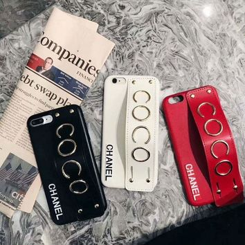 CHANEL COCO Fashion iPhone Phone Cover Case For iphone 6 6s 6plus 6s-plus 7 7plus iPhone8 I