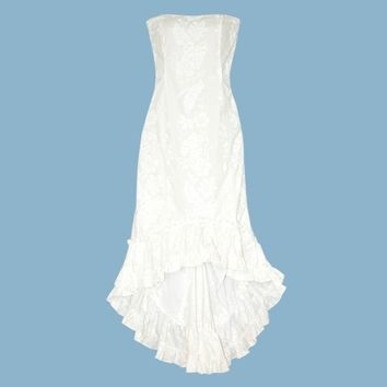 makamae hawaiian momi beach wedding dress